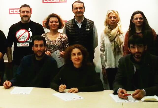 firma manifiesto pequeño comercio Aragon