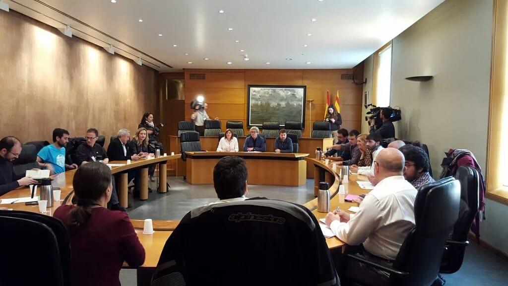 reunion senado