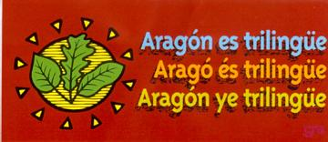 aragon ye trilingüe, argonés, catalán, lengua aragonesa