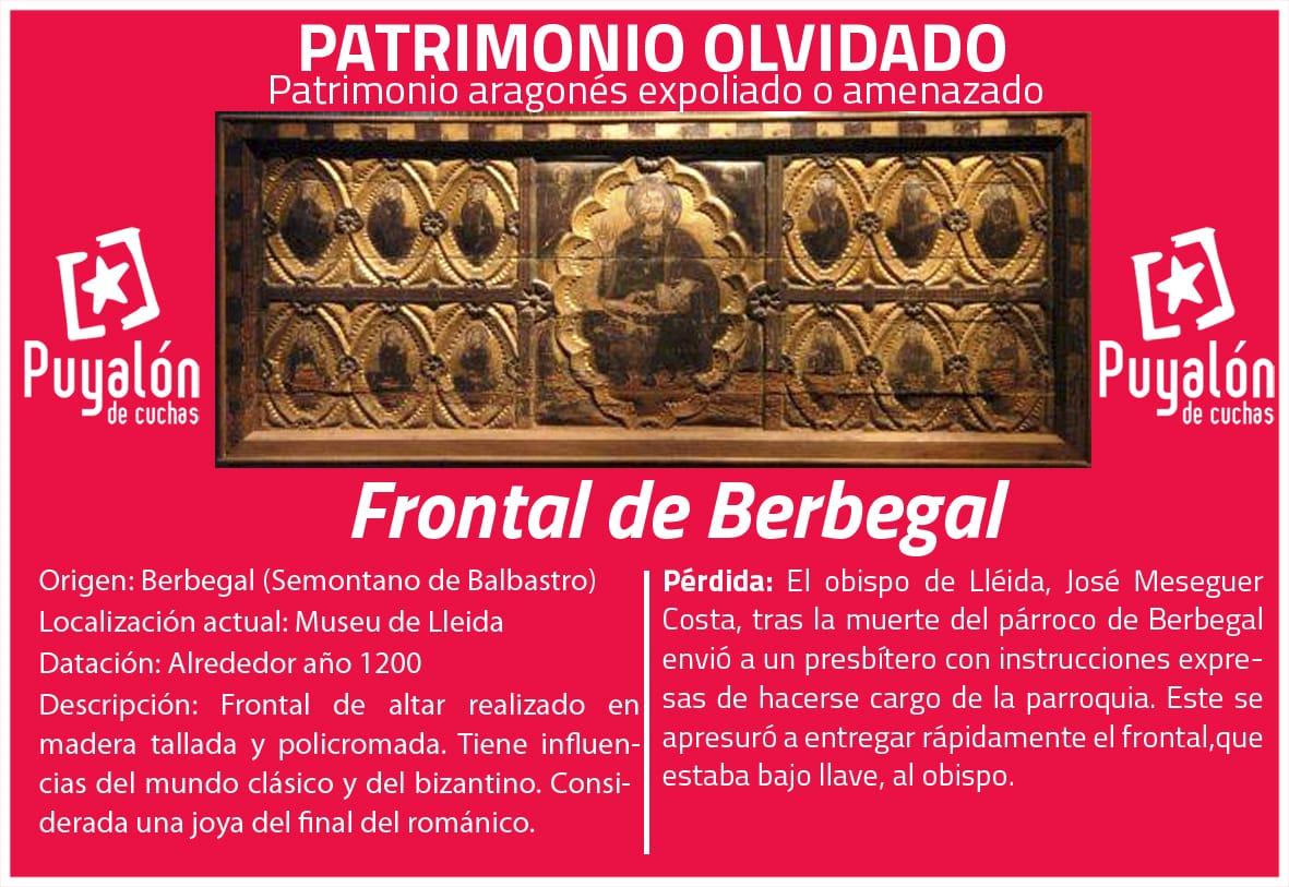 FRONTAL DE BERBEGAL