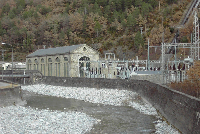 salto hidroeléctrico lafortunada