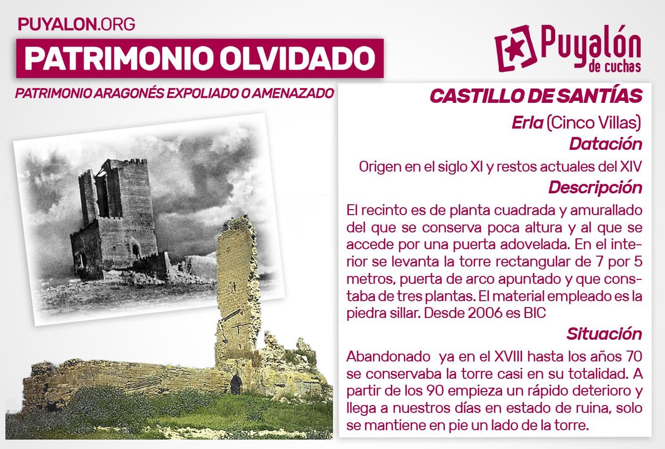 castillo santias Erla