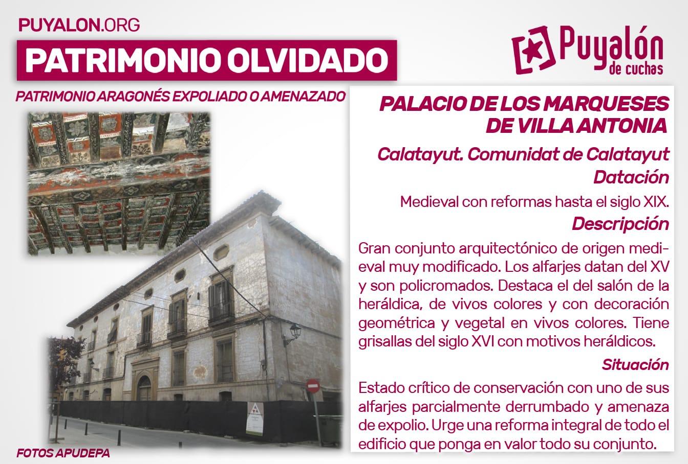 Palacio de los Marqueses de Villa Antonia