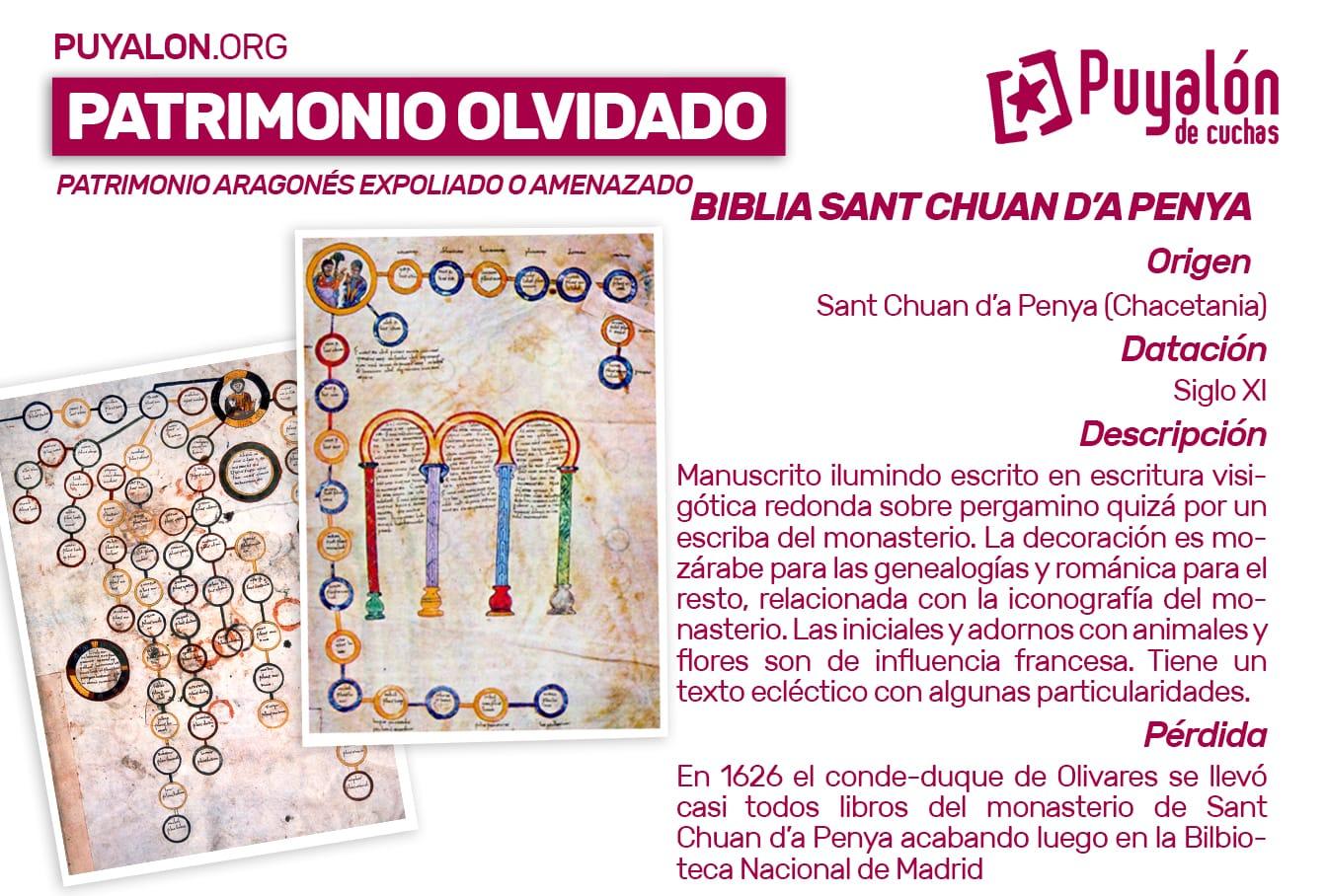 Biblia San Juan de la Peña Sant Chuan d'a Penya