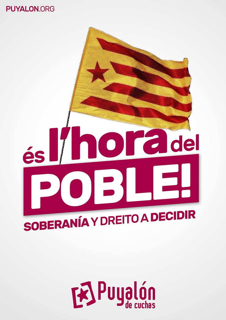 apoyo proceso independentista catalan