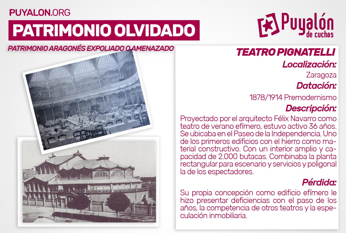 Teatro Pignatelli Zaragoza